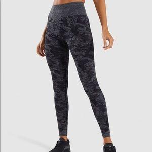 Gymshark Camo Seamless Legging (S)